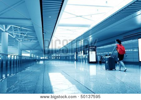 Passengers In The Airport