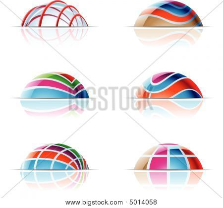Glass Dome Icons