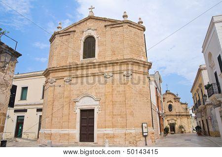 St. Maria della Piet� Church. San Vito dei Normanni. Puglia. Italy.