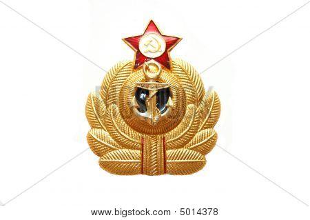 Symbol Of The Soviet Marine Sea Fleet