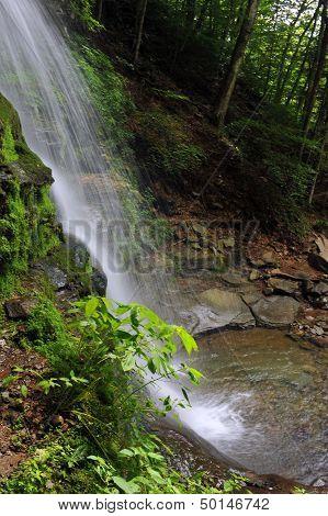 Waterfalls at Catskils mountains upstate NY