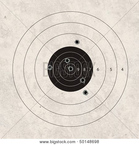 Shoot Target Missing 2 Shot