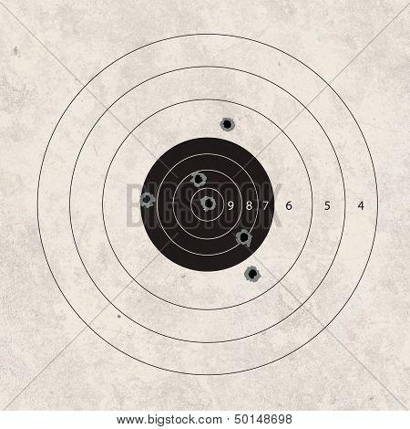Shoot Target Missing 2 Shot