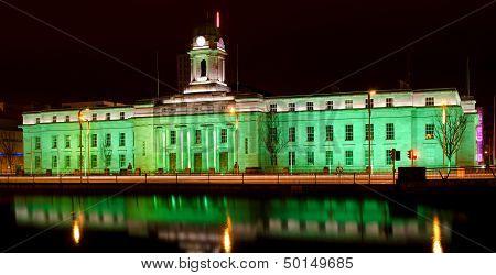 Cork City Hall - St. Patrick's Day