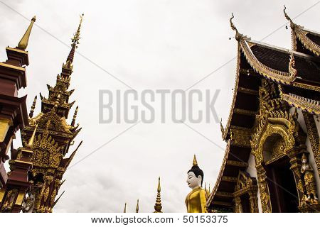 Wat Raja Mon Thian , Chiangmai Thailand