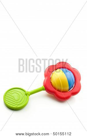 Colorful Baby Rattle Vertical