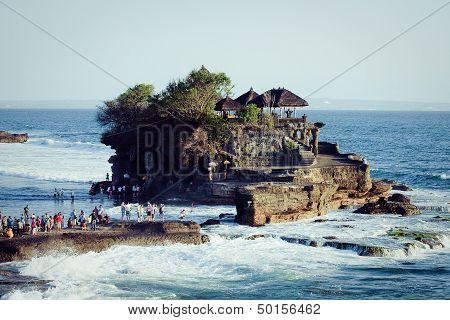 Tanah Lot Temple in Bali Island Indonesia