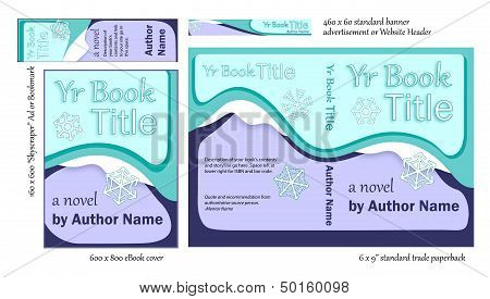 Versatile Blue Book COVER Designs for Writers