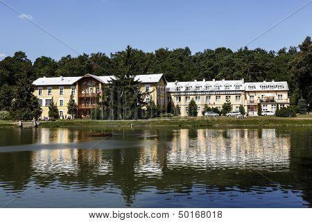 Sanatorium No. 1 In Naleczow In Poland