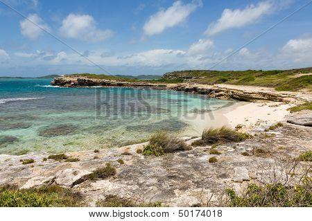 Beautiful Rustic Tropical Beach Antigua