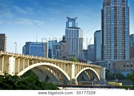 Bridge In Minneapolis