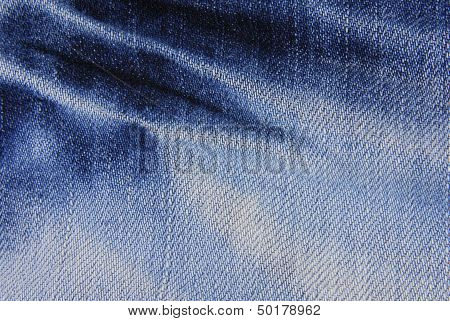 Blue denim jeans texture