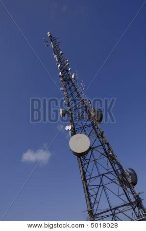 Comms Tower Into Sky