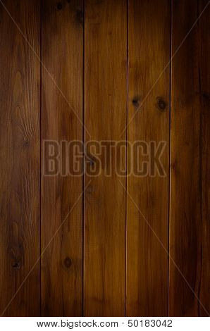 Vignetted Dark Wood Plank Background