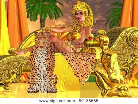 Serve the Pharaoh Queen