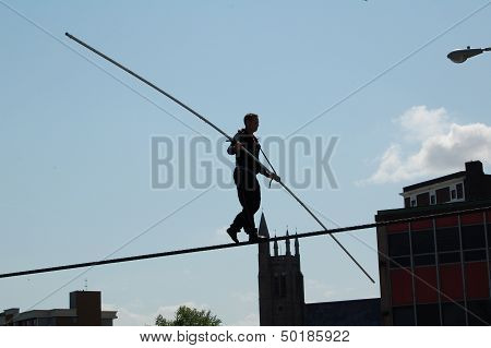 Nik Wallenda Tight Rope Walker