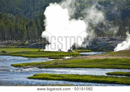 Yellowstone Scenery