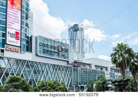 Bangkok, Thailand - Aug 29: Central World, Bangkok, Thailand On August 29, 2013.