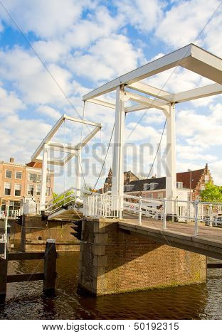 Gravestenebrug bridge in  Haarlem