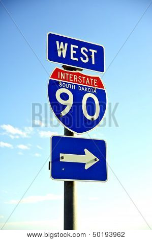Interstate 90 West