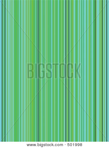 Green Pinstripe Background
