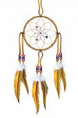 picture of dreamcatcher  - Dreamcatcher Illustration Isolated on White - JPG