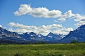 stock photo of mountain-range  - Montana - JPG