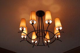 picture of light fixture  - light fixture closeup - JPG