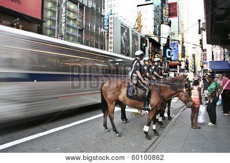 Bus Versus Horse