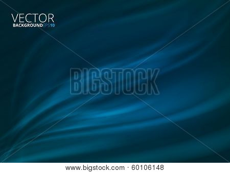 Deep water vector background