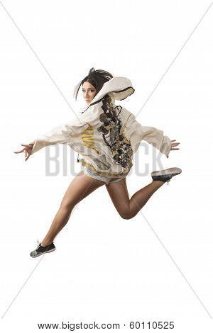 Energetic Dance Jump