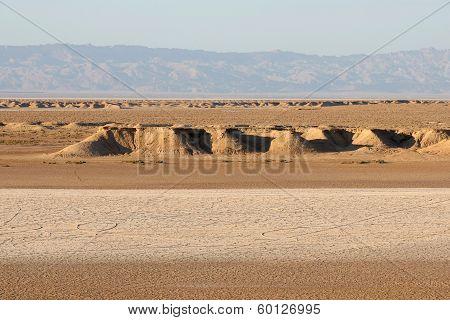 Desert Dunes Of Sahara