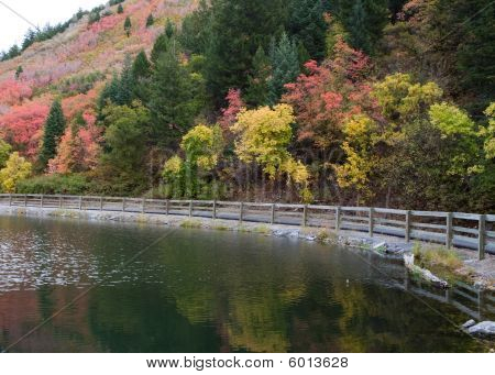 Autumn Colors In Provo Canyon