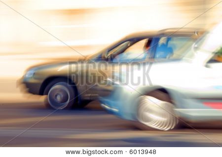 Speeding Cars