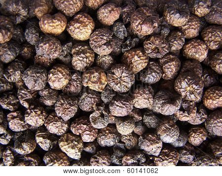 Dried Turkey berry or Solanum torvum is a health supplement to counter diabetes