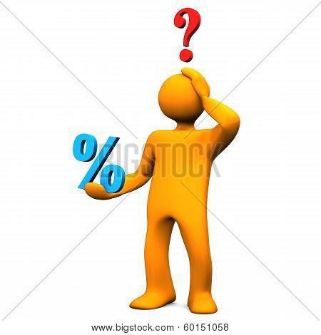 3D Figure Percent Question