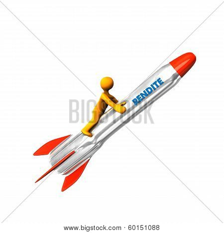 3D Figure Rocket Yield