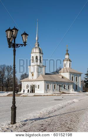 Alexander Nevsky Church in Vologda
