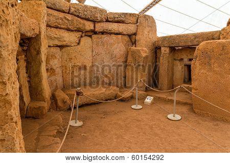 Mnajdra Temple Chamber