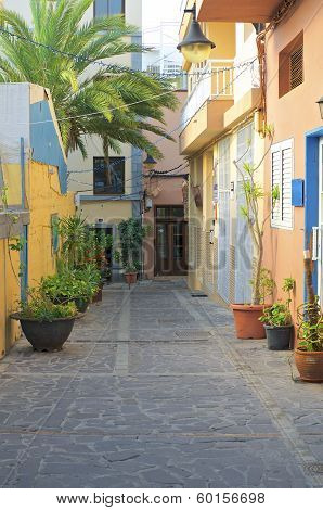 Street in Vueltas, La Gomera