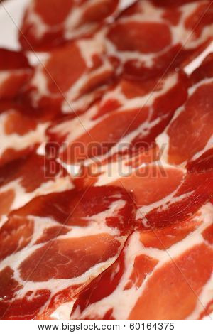 slices of cold   meat