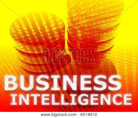 Business Intelligence Illustration