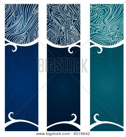 Water Swirl Banners
