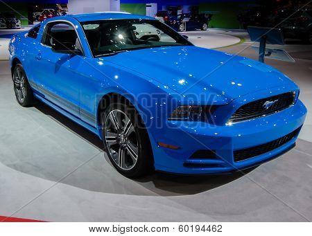 2013 Ford Mustang, Grabber Blue