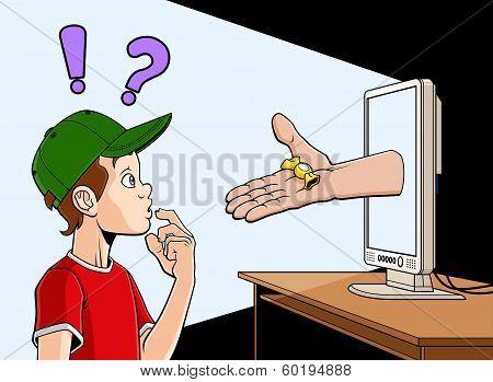 Internet prowler