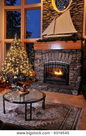 Christmas Livingroom