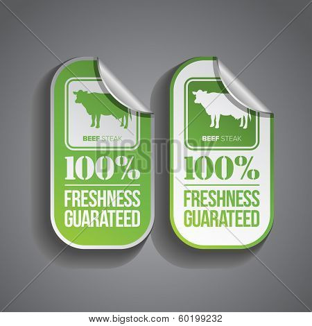Food Sticker Beef