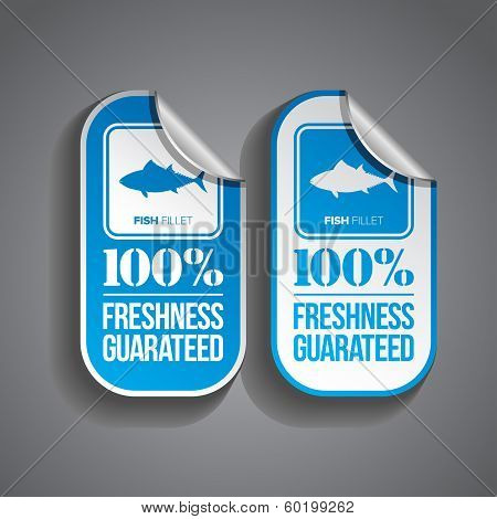 Food Sticker Fish