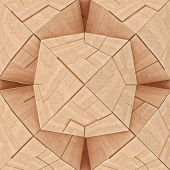 image of tangram  - Abstract Textured Wooden Structure Geometrical Illustration Tangram - JPG
