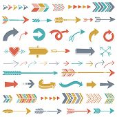 foto of directional  - Hipster Arrows - JPG
